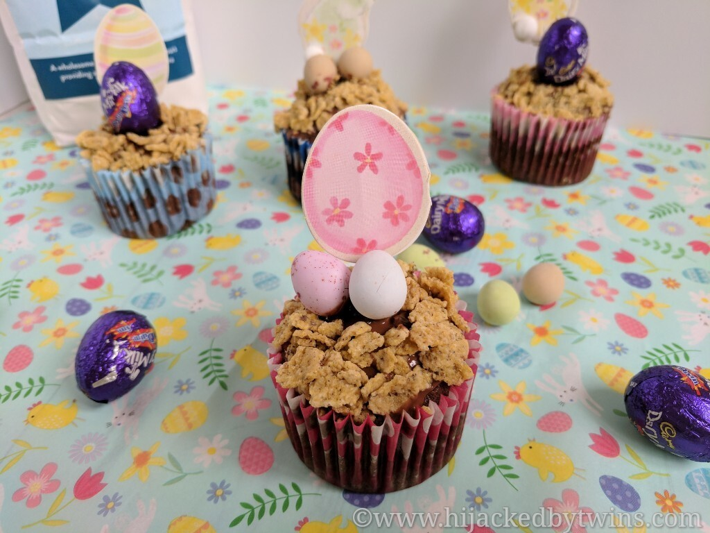 Gluten Free and Refined Sugar Free Easter Cupcakes - #FreeFromEaster