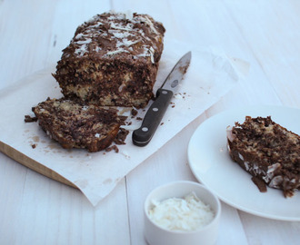 Chocolate Chia Banana Bread