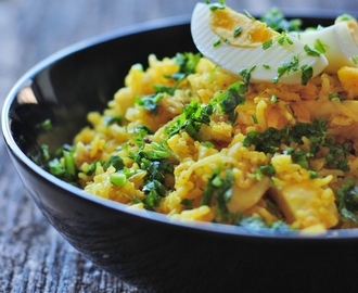 Kedgeree might be the best way to repurpose your leftovers