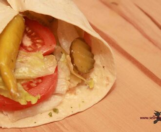 Wrap it: Tortillas selbermachen