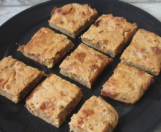 Banoffee Blondies Recipe - Banana Blondies Recipe