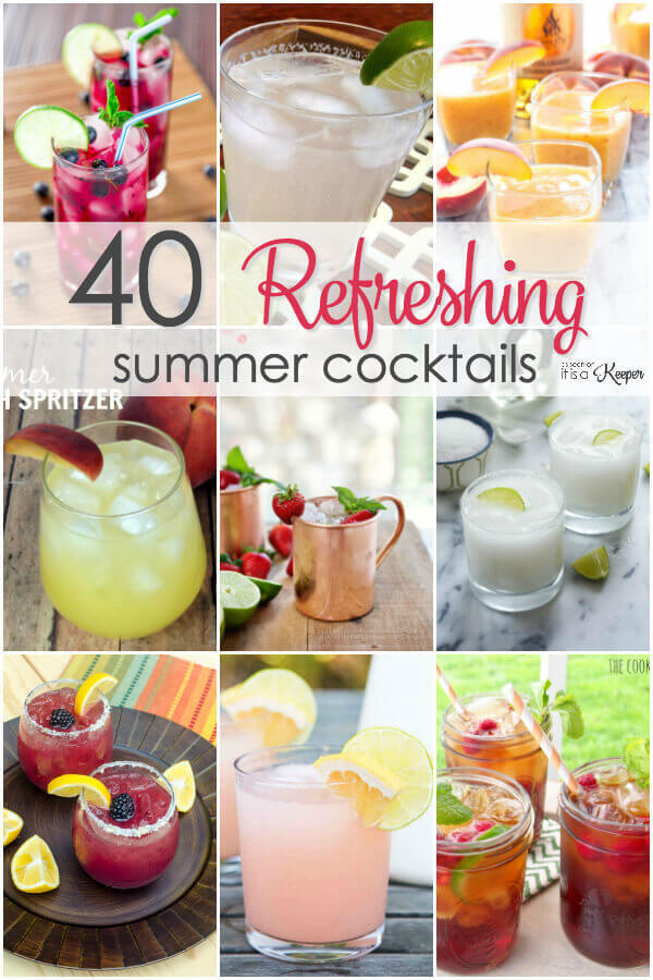 40 Simple Cocktail Recipes for Summer