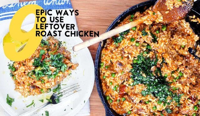 Nine Leftover Chicken Recipes