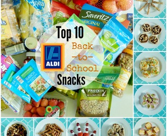 Top 10 Back-to-School Snacks from ALDI