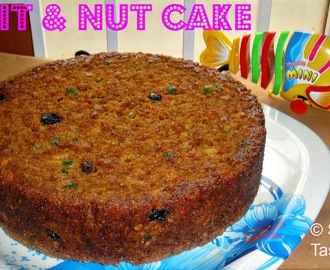 Fruit N Nut Cake - Akshara's sixth month completion