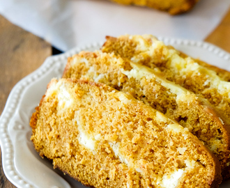 Easy and Decadent Pumpkin Cheesecake Bread