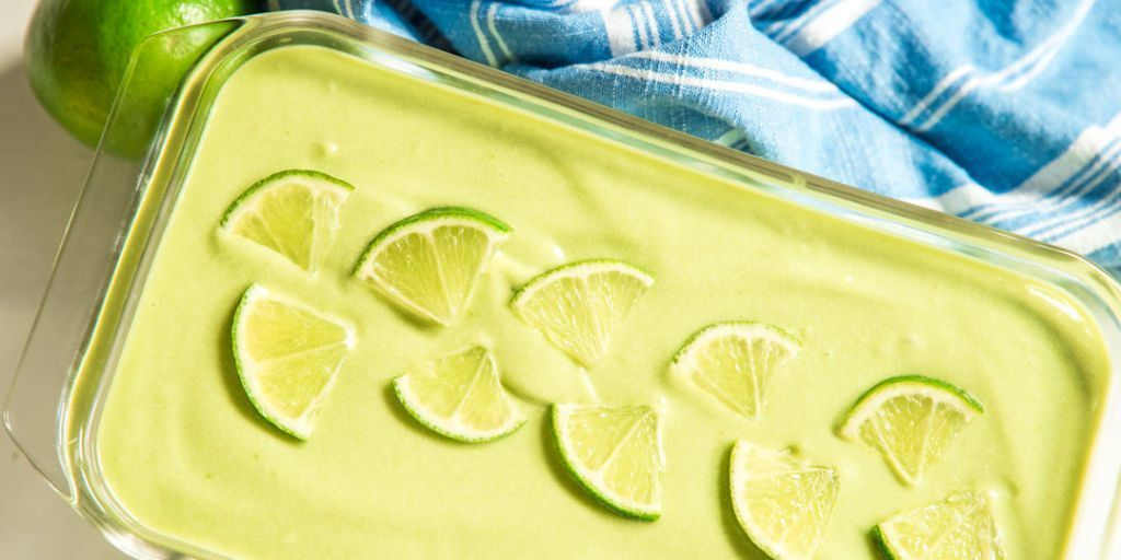 Tropical Avocado Ice Cream