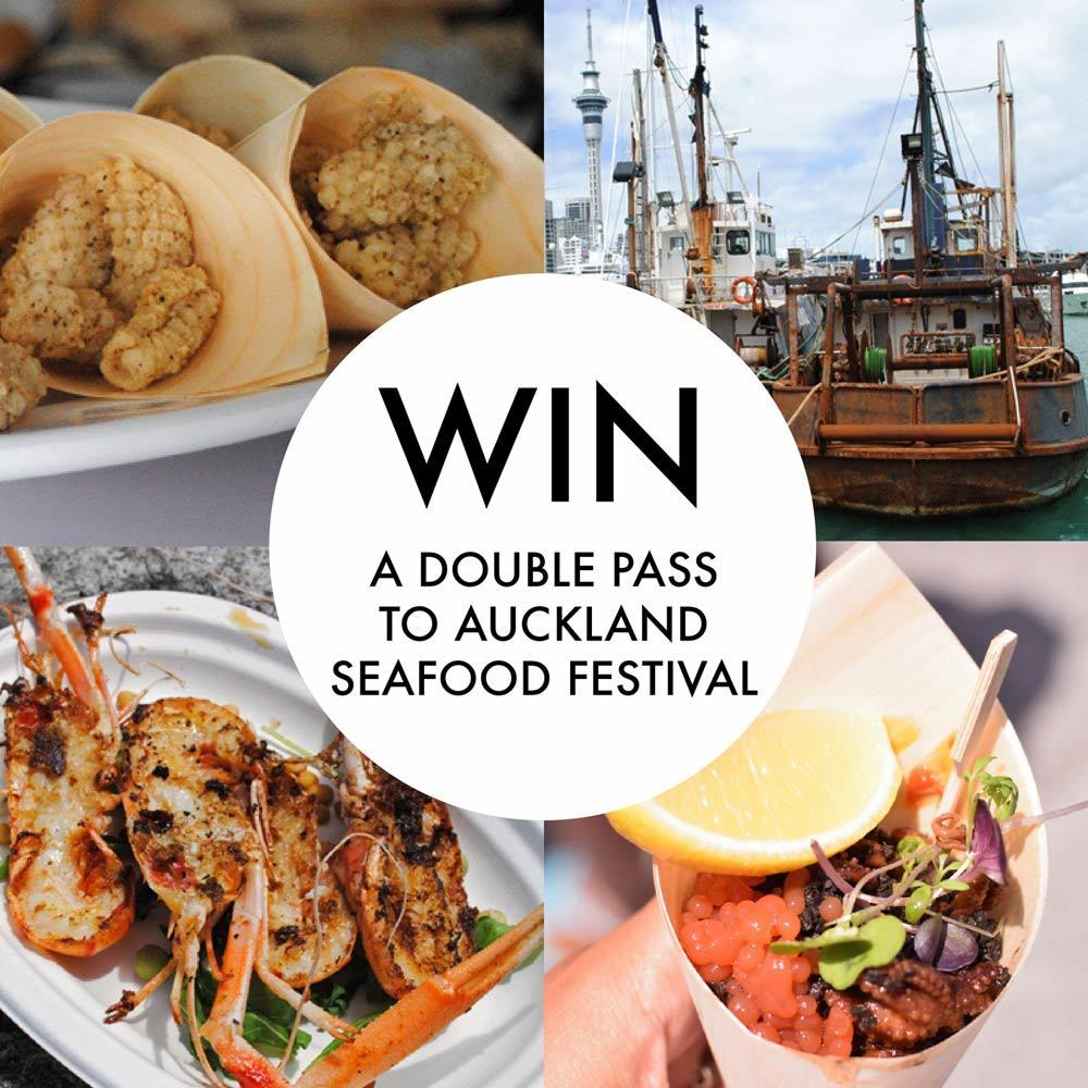 Auckland Seafood Festival 2016 – double pass giveaway