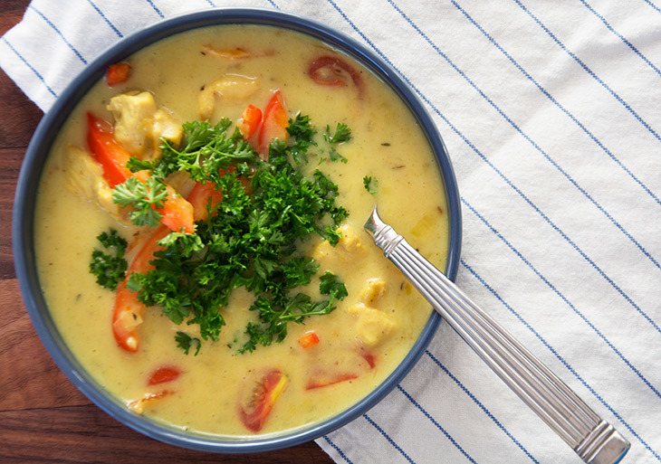 Mulligatawny suppe