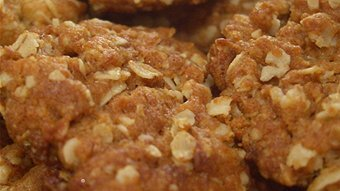 Anzac biscuits with dextrose