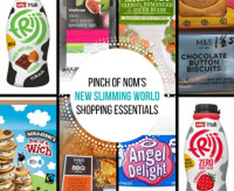 New Slimming World Shopping Essentials – 24/3/17