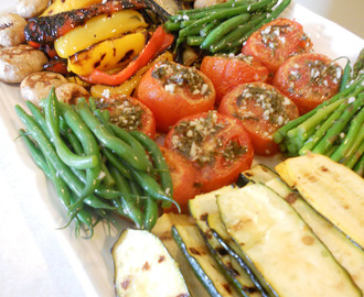 Grilled Marinated Vegetable Platter That Is Sure to Wow