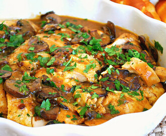 Smothered Chicken & Mushrooms