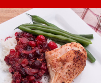 #CranberryWeek: Cranberry Tandoori Chicken