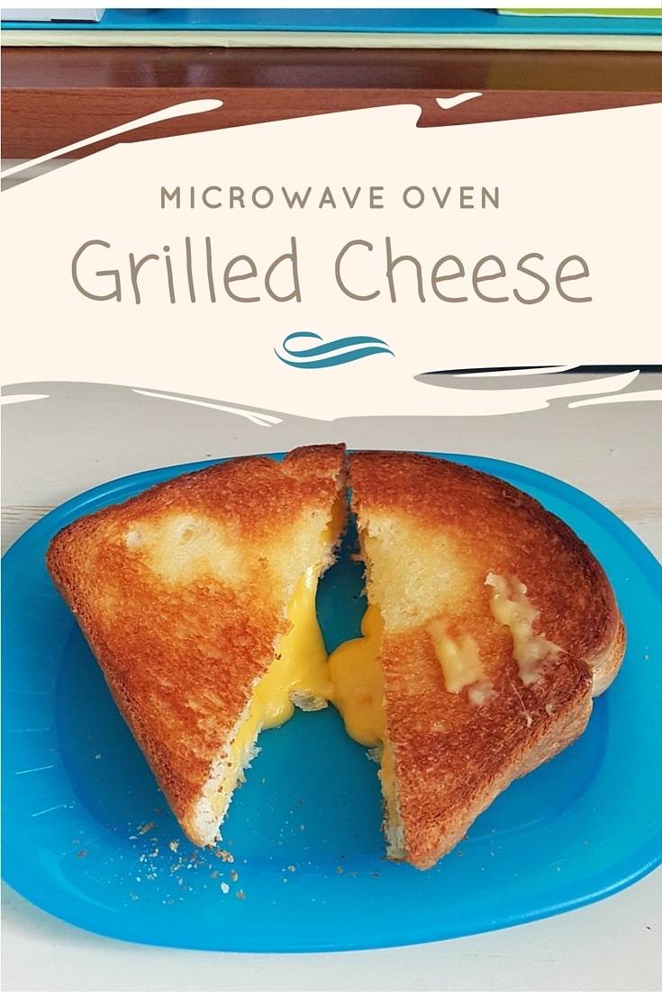Microwave Oven Grilled Cheese recipe