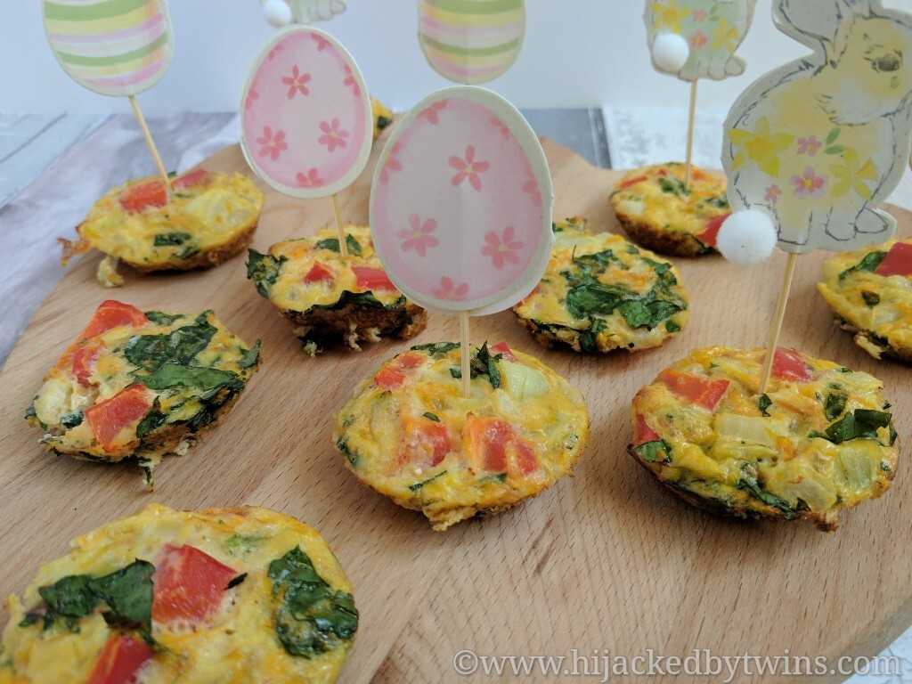 Savoury Egg Muffins - Gluten Free and Dairy Free #FreeFromEaster