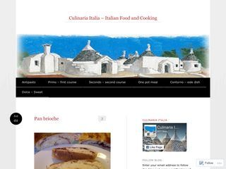 Culinaria Italia - Italian Food and Cooking