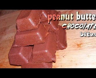non-baked peanut butter chocolate bites | no bake chocolate peanut butter energy bites - YouTube