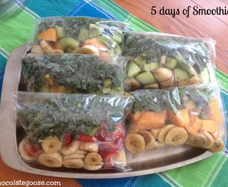 Smoothie in a bag