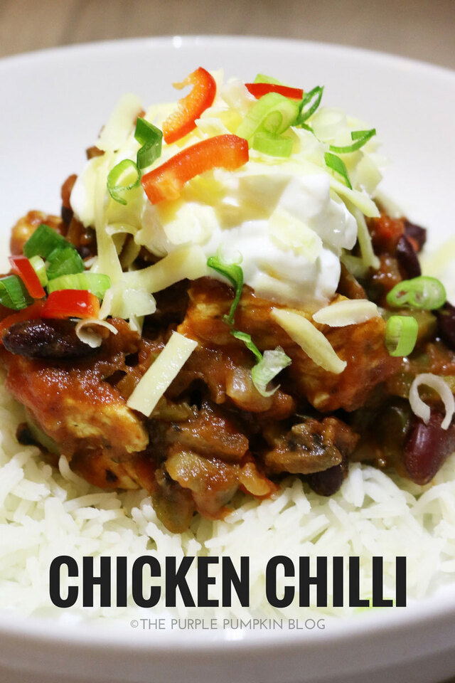 Simple Chicken Chilli {Meal Prep Recipe}