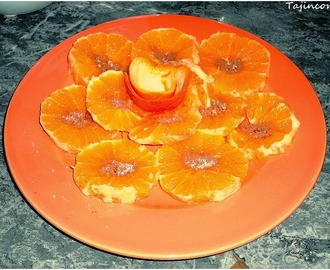 Dessert d'orange à la Marocaine
