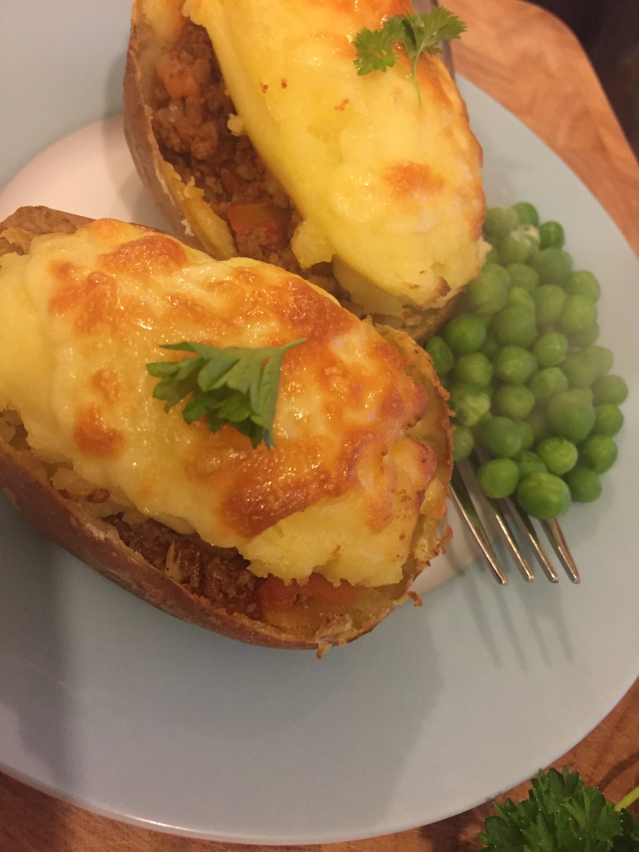 Shepherds Pie Potatoes