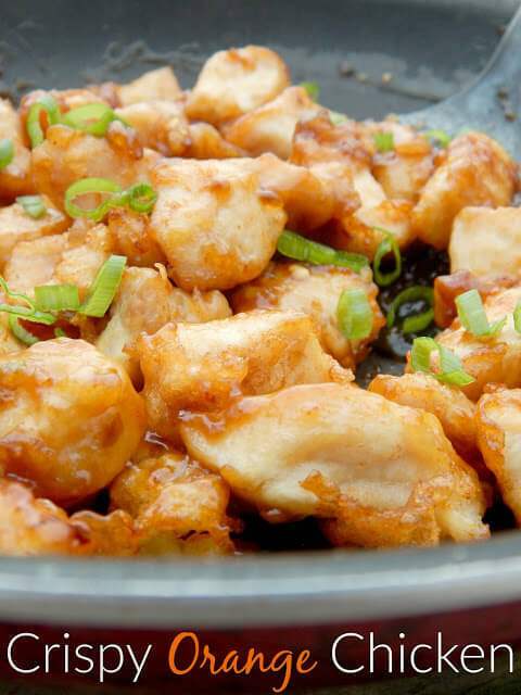 Crispy Orange Chicken