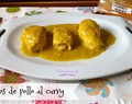 Rollitos de pollo al curry