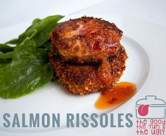 salmon rissoles: the good, the yum & the ugly