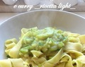 Pappardelle alle zucchine e curry (ricetta light)