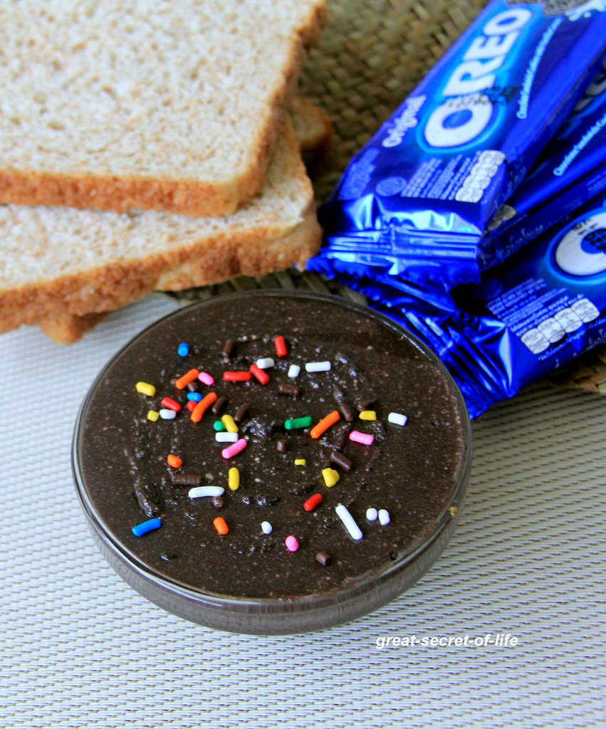 Oreo Spread recipe - Kids friendly recipe - Breakfast recipe