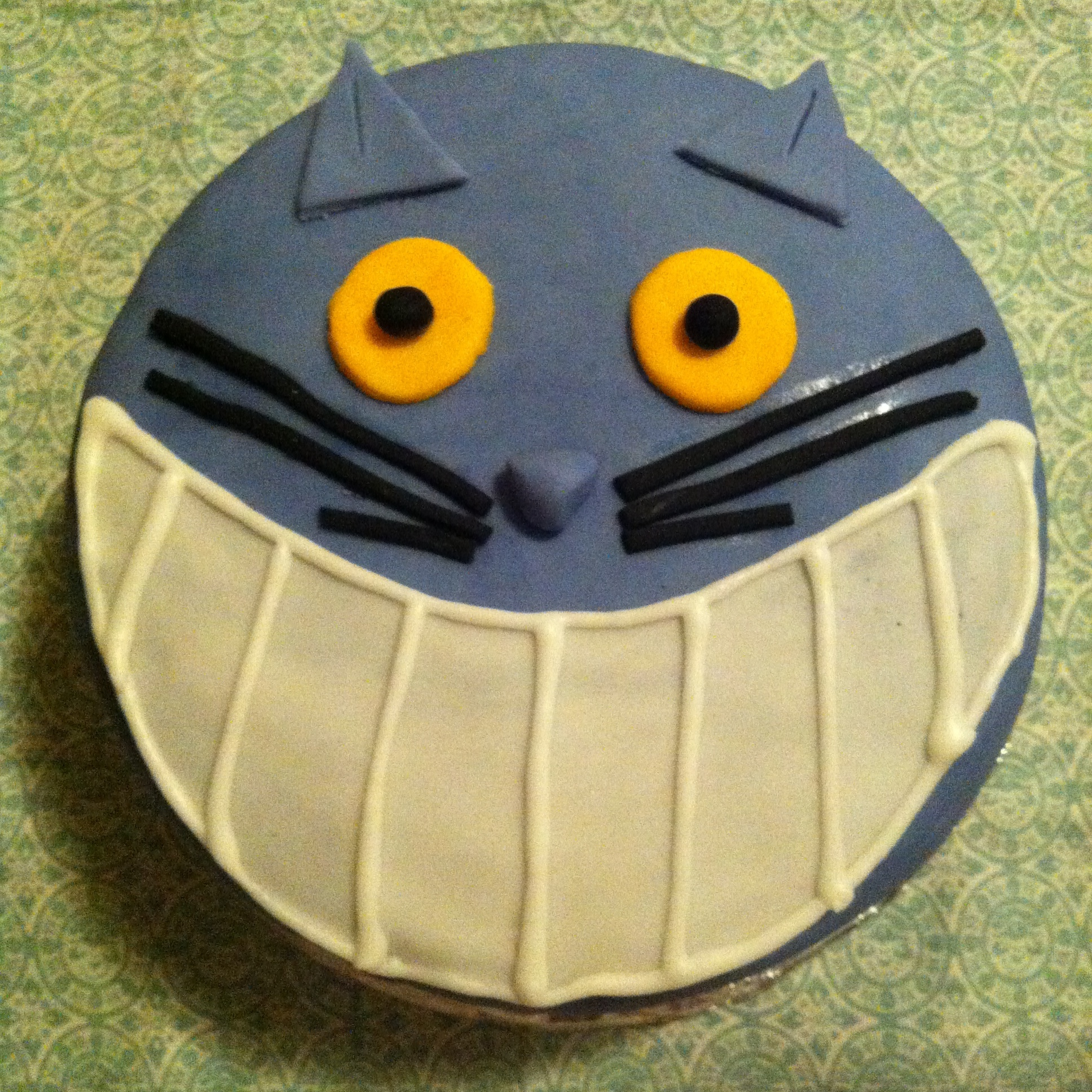 Cheshire Cat Cake for Melbourne Cake Club - March Madness