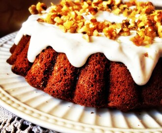 One Bowl Thermomix Carrot Cake! {gluten free, dairy free}
