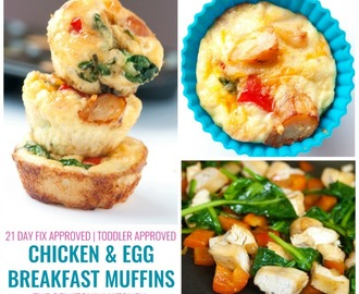 Chicken Breakfast Muffins #ChickenDotCa