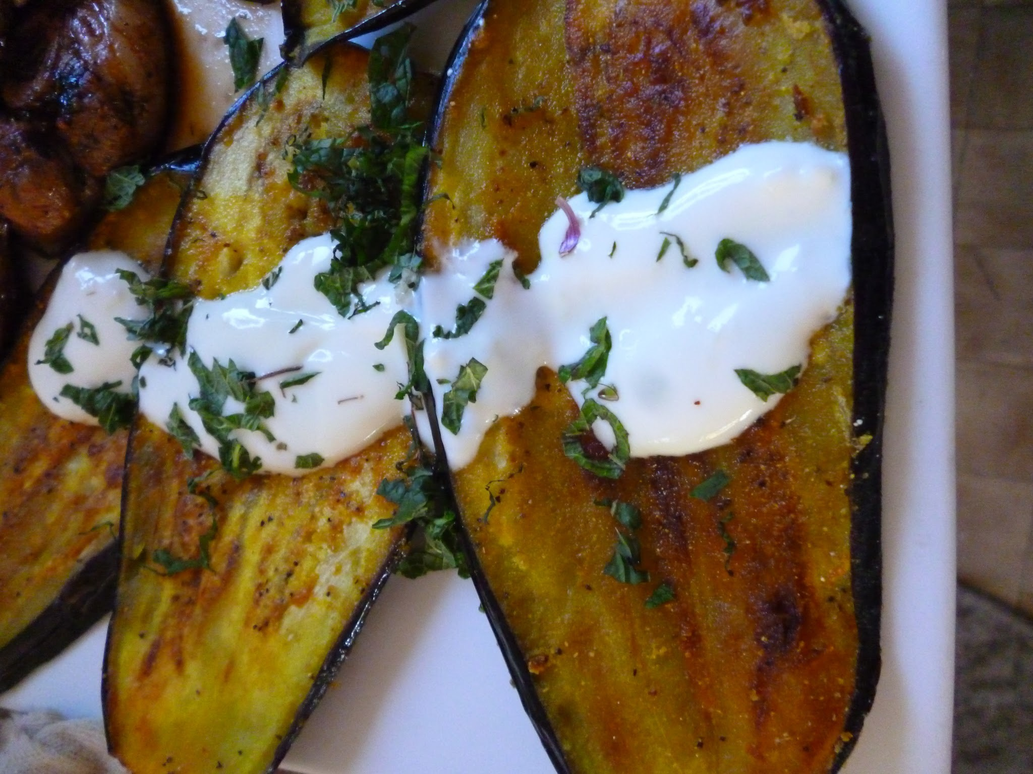 Eggplants: Queen of Vegetables  (or Fruits if you're a botanist)