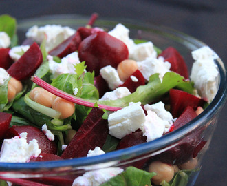 Baby Beet and Feta Salad
