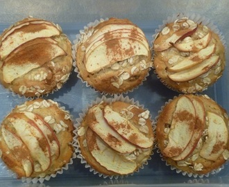 Bubba Chopper's Apple, Oat and Cinnamon Muffins