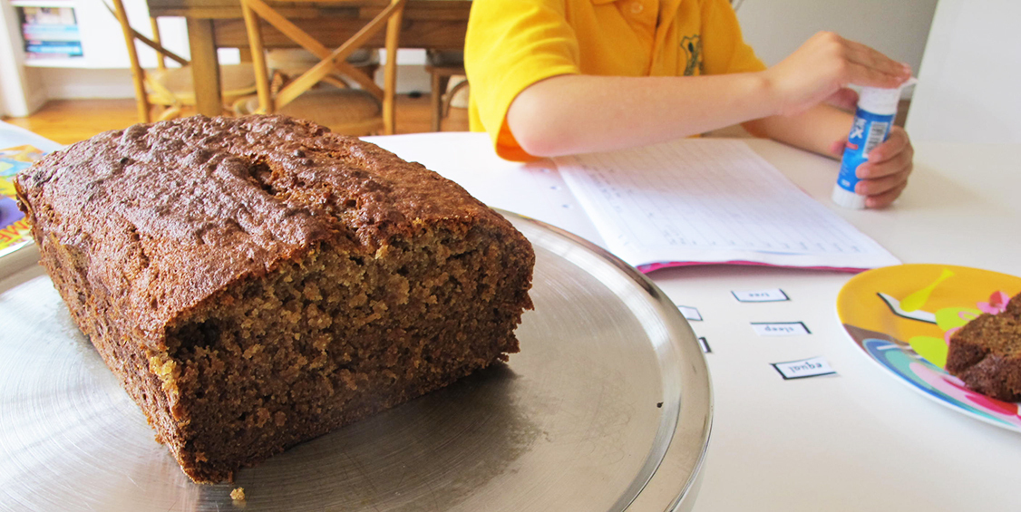 Date & Banana Bread (Regular & Thermomix) great for the lunch box
