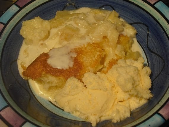 Pineapple Self Saucing Pudding