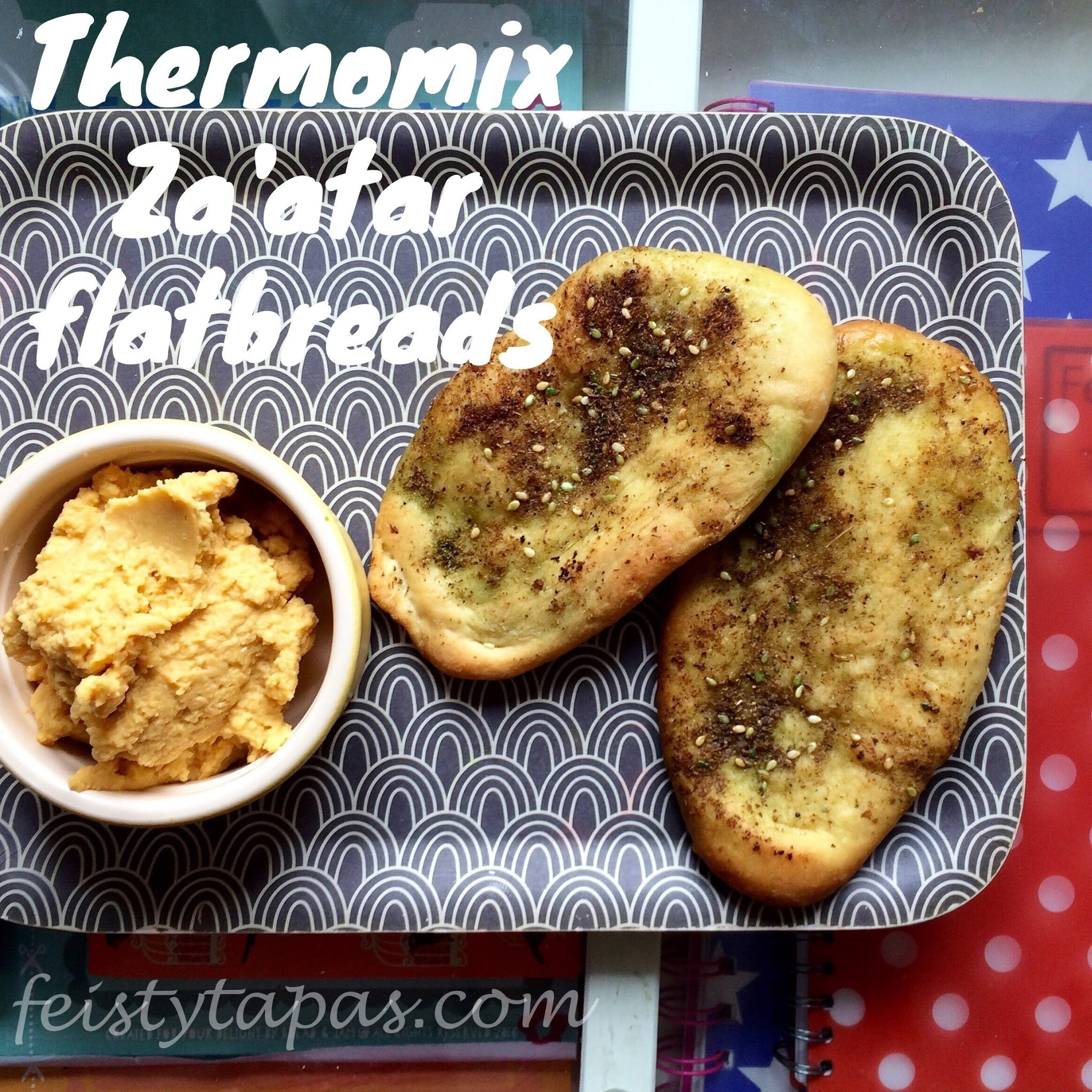 Thermomix Za'atar Flatbreads Recipe