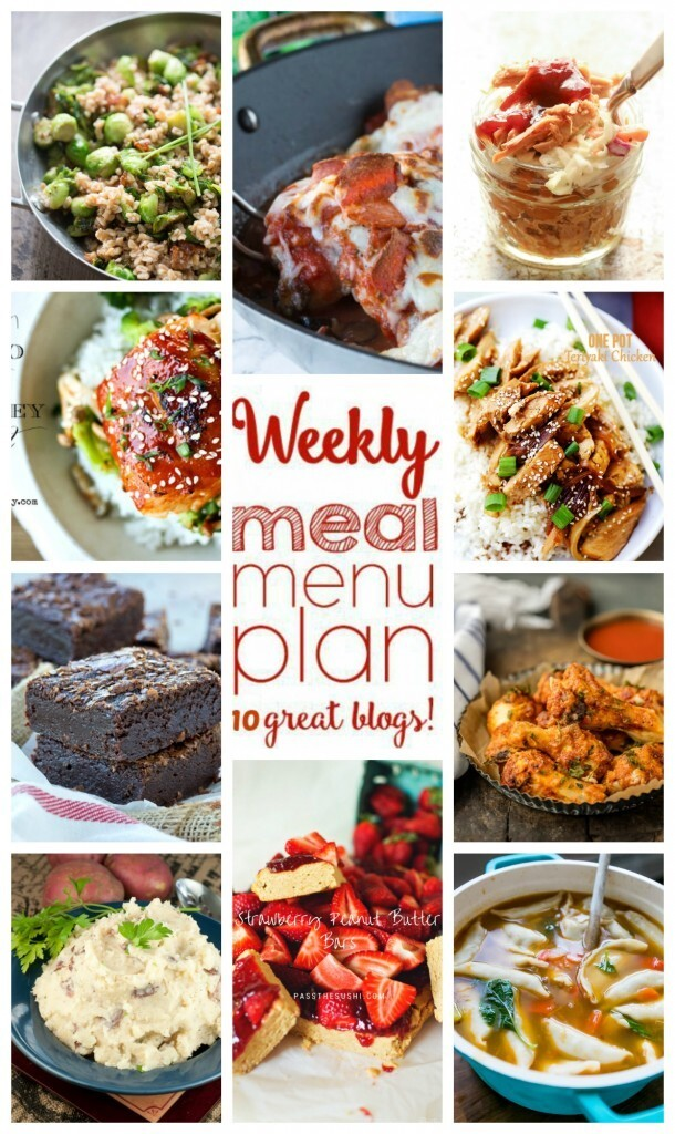 Easy Weekly Meal Plan #40