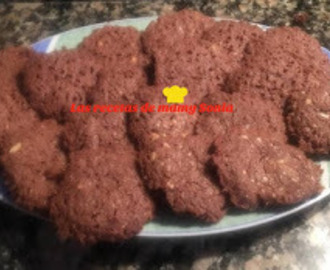 GALLETAS DE CHOCOLATE  SIN GLUTEN EN THERMOMIX Y TRADICIONAL