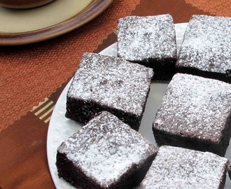 Gluten Free Chocolate Coconut Brownies
