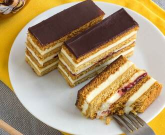 Honey Cake Slices – Slovakian Petit Fours