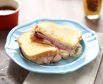 Ham and Brie French Toast