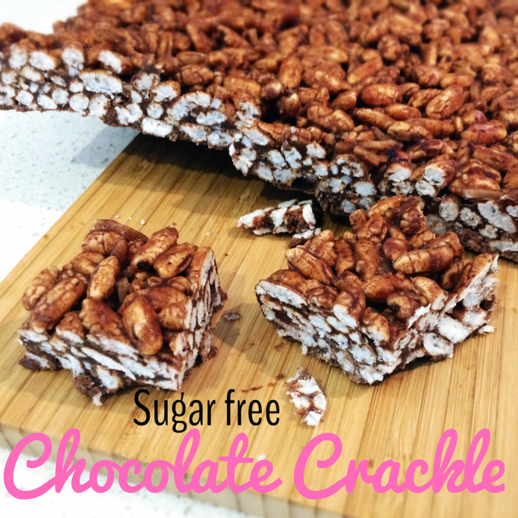 Easy Sugar Free Chocolate Crackles