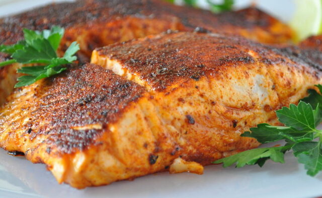 Blackened Salmon Recipe and What You Want to Know About Salmon!