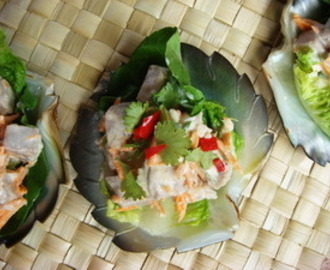 Recipe of the Week - Ika Mata, Rarotongan Raw Fish Salad with Coconut