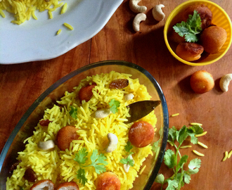 Quick Moti Pulao (Pearl Pilaf)-Restaurant Secret Recipe