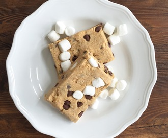 no-bake s'mores cookie dough bars